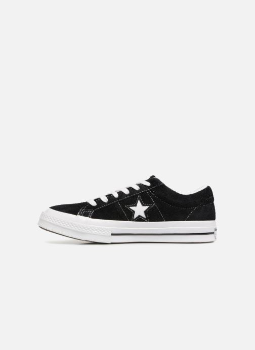 Sneaker Converse One Star OG Suede Ox W schwarz ansicht von vorne