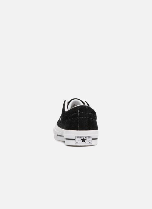 Sneaker Converse One Star OG Suede Ox W schwarz ansicht von rechts
