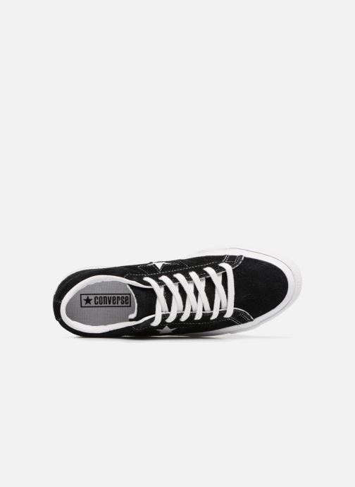 Sneakers Converse One Star OG Suede Ox W Nero immagine sinistra