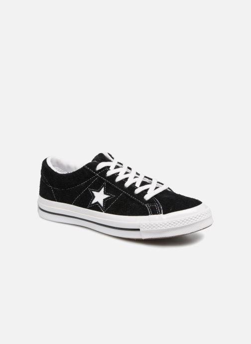 Sneaker Converse One Star OG Suede Ox W schwarz detaillierte ansicht/modell