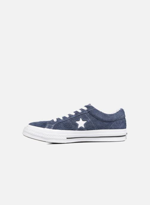 Baskets Converse One Star OG Suede Ox W Bleu vue face