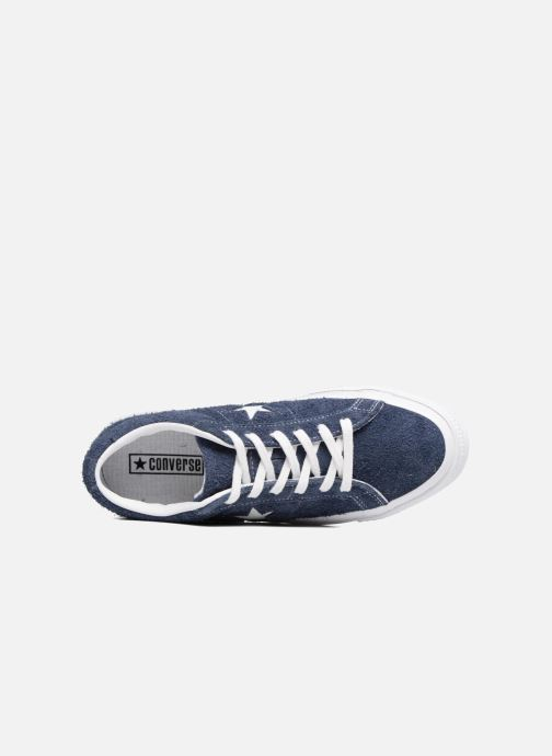 Sneakers Converse One Star OG Suede Ox W Azzurro immagine sinistra