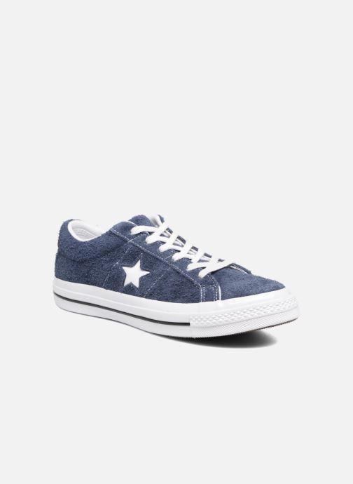 Deportivas Converse One Star OG Suede Ox W Azul vista de detalle / par