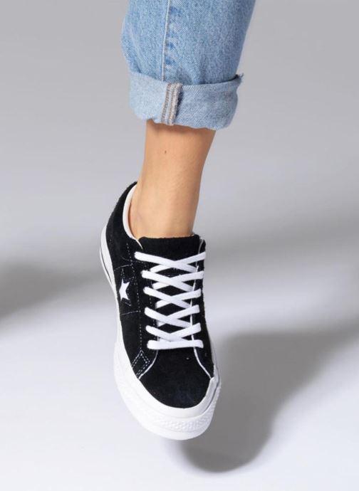 Sneakers Converse One Star OG Suede Ox W Röd bild från under