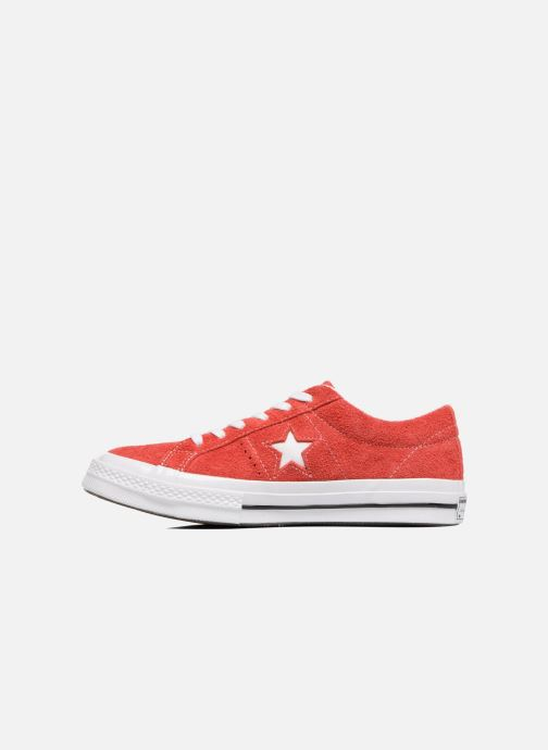 Sneakers Converse One Star OG Suede Ox W Röd bild från framsidan