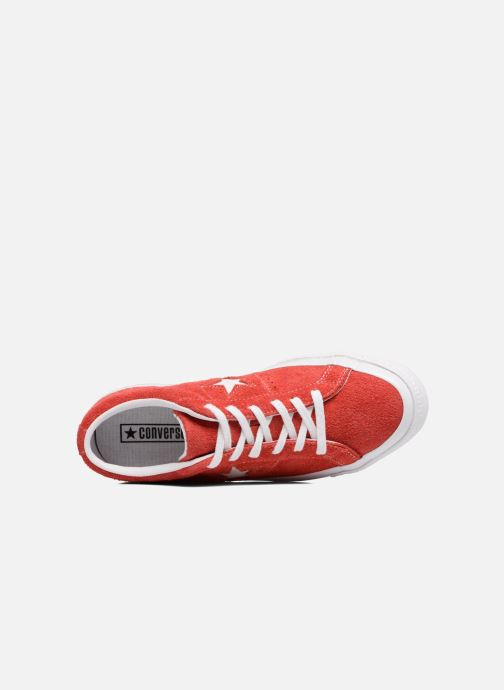 Sneakers Converse One Star OG Suede Ox W Röd bild från vänster sidan