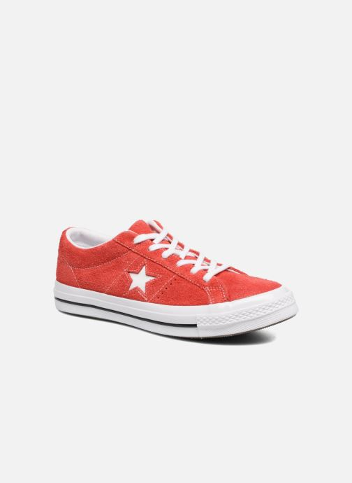 Sneakers Converse One Star OG Suede Ox W Röd detaljerad bild på paret