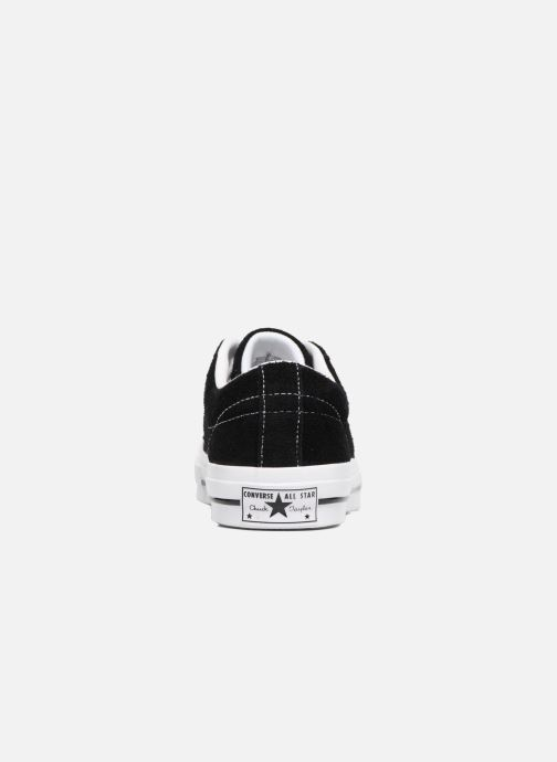 Sneaker Converse One Star OG Suede Ox schwarz ansicht von rechts