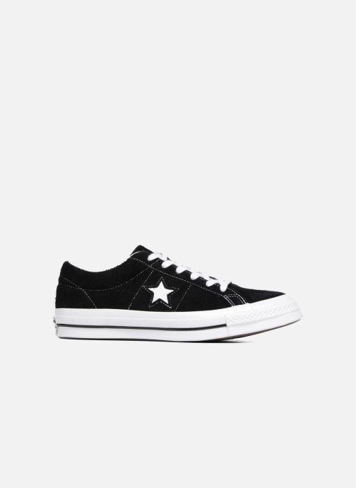 Sneaker Converse One Star OG Suede Ox schwarz ansicht von hinten