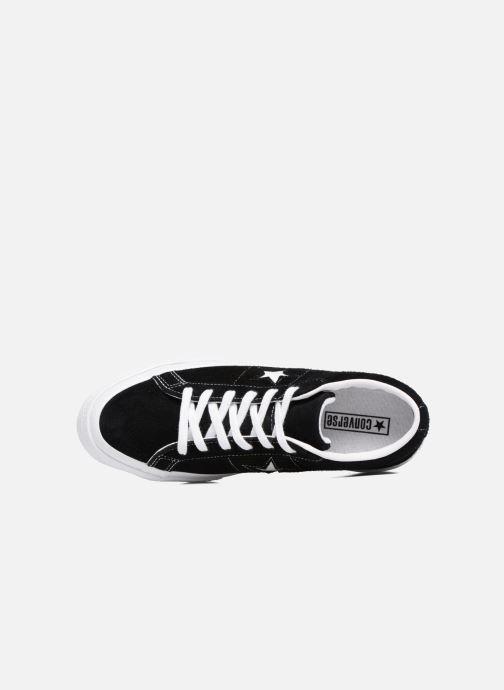 Sneaker Converse One Star OG Suede Ox schwarz ansicht von links
