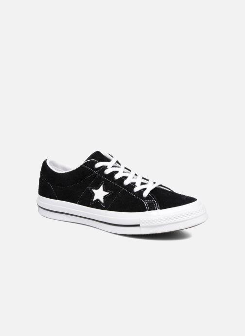Baskets Converse One Star OG Suede Ox Noir vue détail/paire