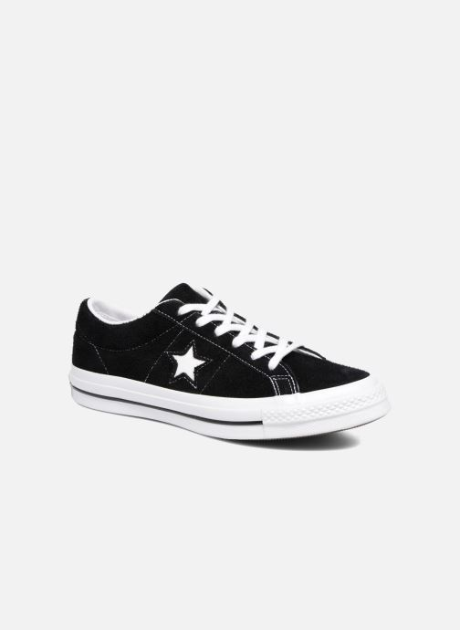 Sneaker Converse One Star OG Suede Ox schwarz detaillierte ansicht/modell