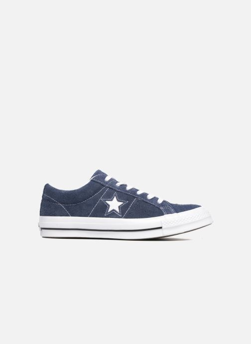 Baskets Converse One Star OG Suede Ox Bleu vue derrière