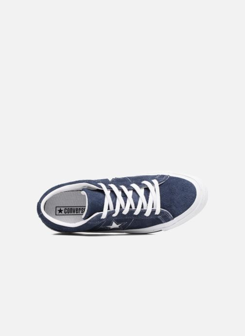 Sneakers Converse One Star OG Suede Ox Azzurro immagine sinistra
