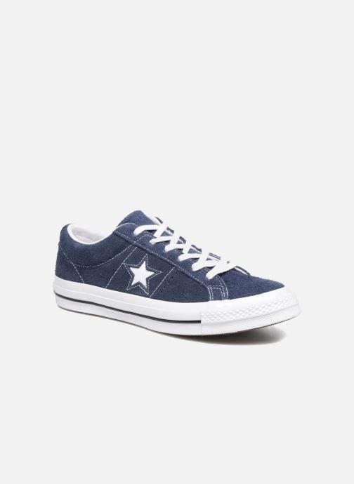 Baskets Converse One Star OG Suede Ox Bleu vue détail/paire