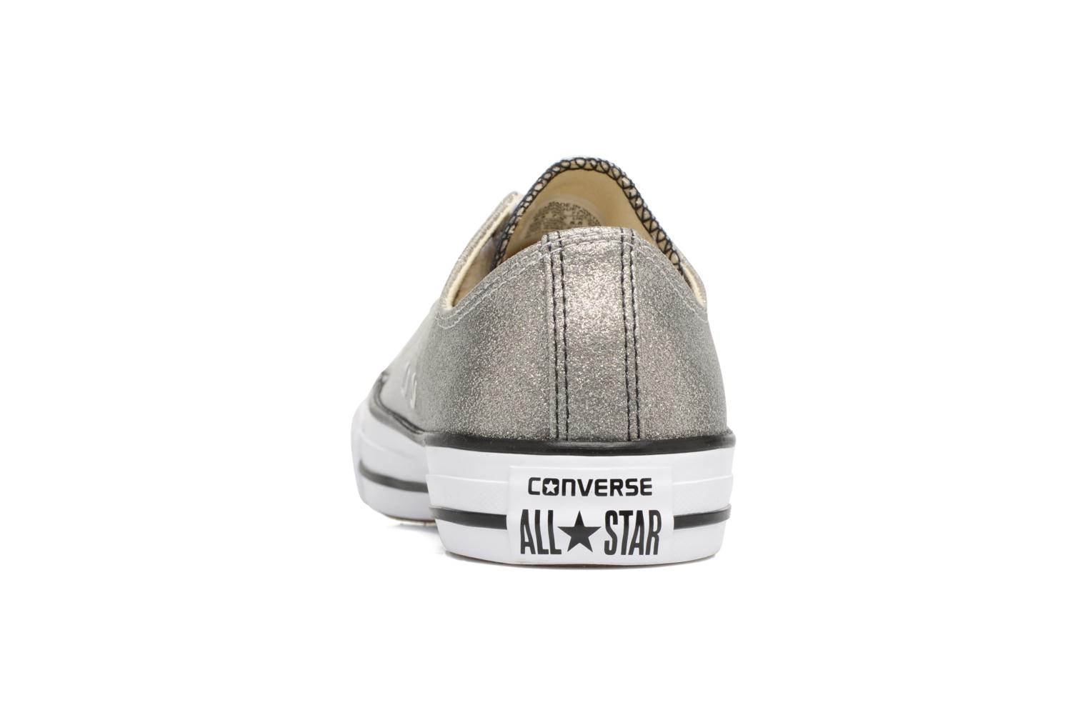 Baskets Converse Chuck Taylor All Star Ombre Metallic Ox W Gris vue droite