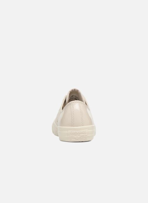 Trainers Converse Chuck Taylor All Star Blocked Nubuck Ox White view from the right