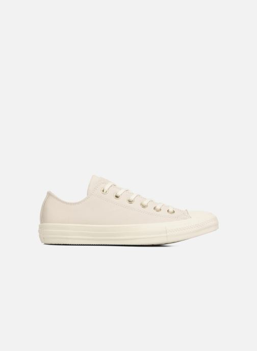 Baskets Converse Chuck Taylor All Star Blocked Nubuck Ox Blanc vue derrière