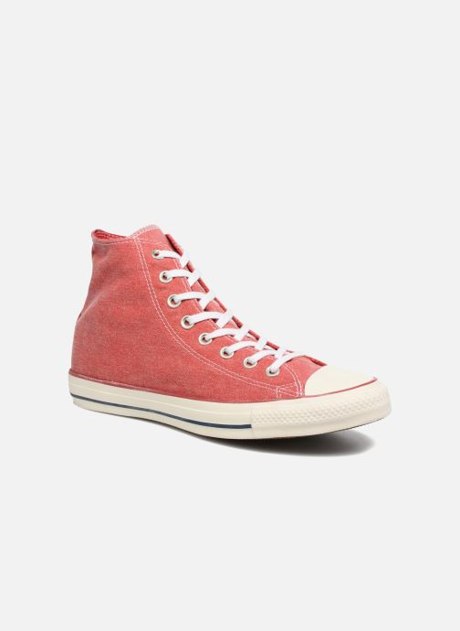 08d1516a5e0291 Converse Chuck Taylor All Star Stone Wash Hi M (Red) - Trainers chez ...