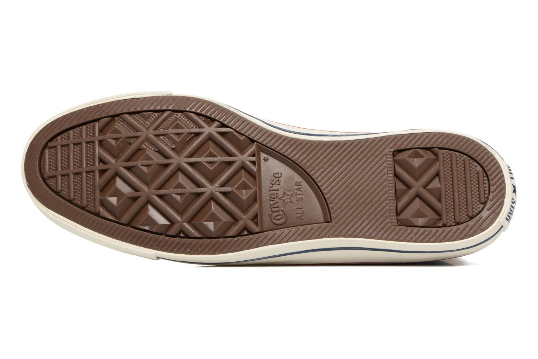 Sneakers Converse Chuck Taylor All Star Stone Wash Hi M Zwart boven