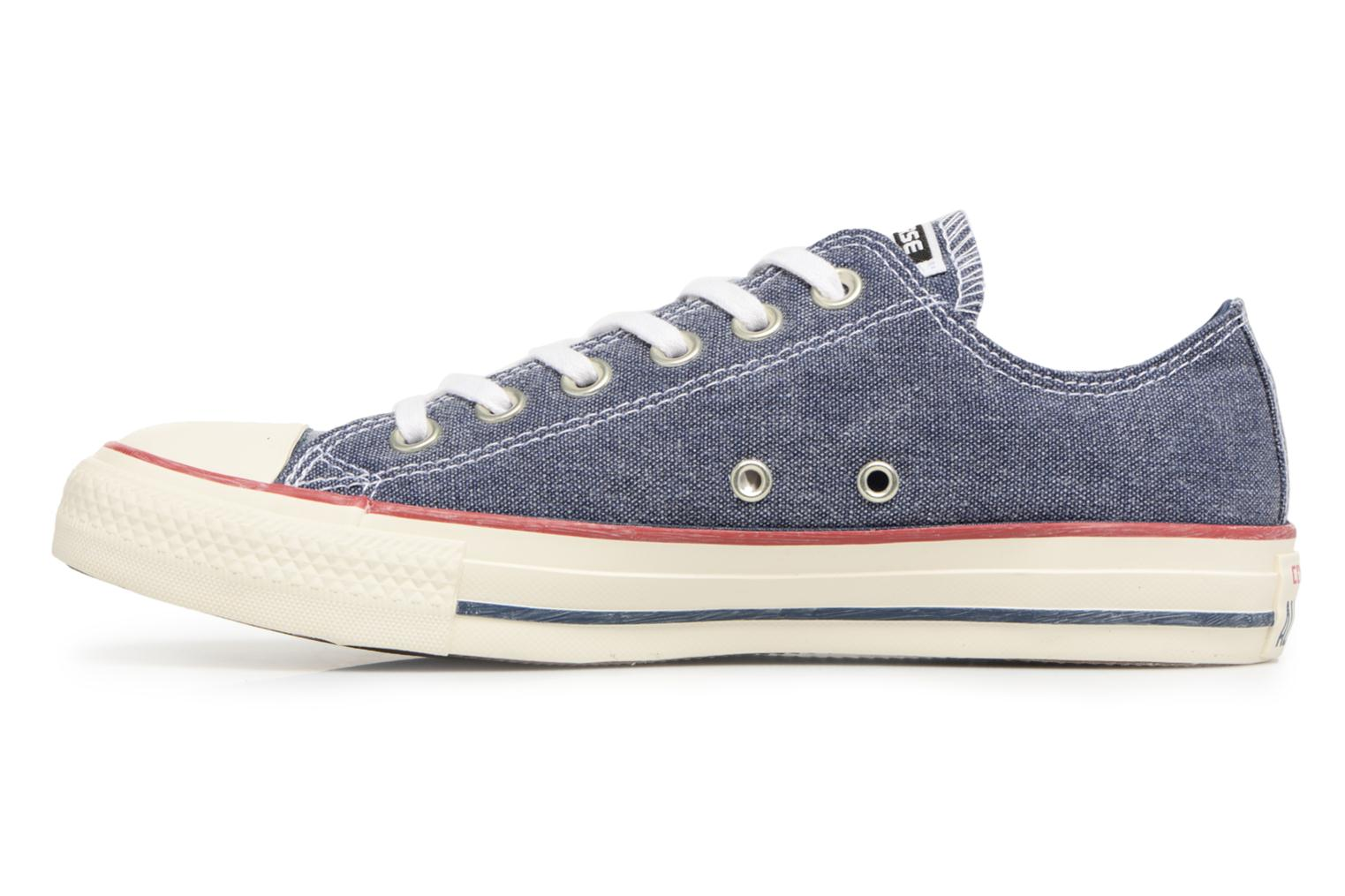 Baskets Converse Chuck Taylor All Star Stone Wash Ox W Bleu vue face