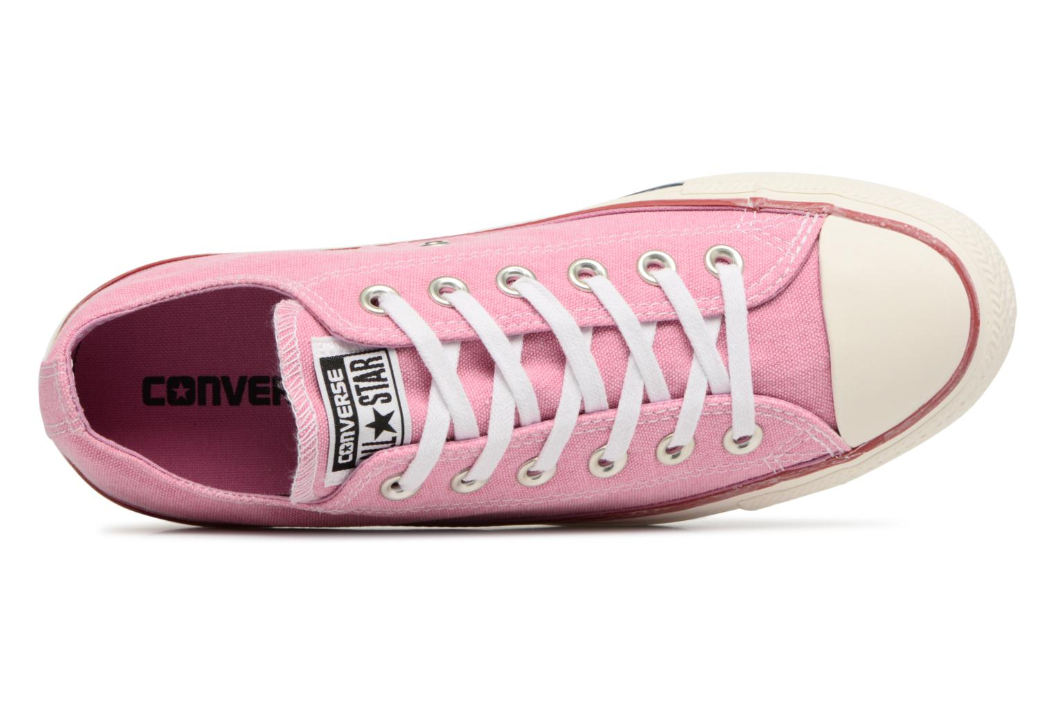 Sneakers Converse Chuck Taylor All Star Stone Wash Ox W Pink se fra venstre