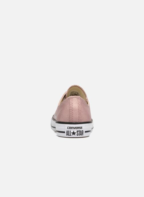 765951374735 Trainers Converse Chuck Taylor All Star Ombre Metallic Ox Pink view from  the right