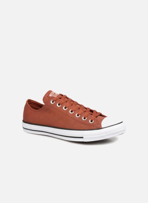 Converse Chuck Taylor All Star Fashion Leather Ox (Bordeaux