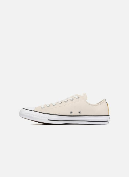 Baskets Converse Chuck Taylor All Star Fashion Leather Ox Beige vue face