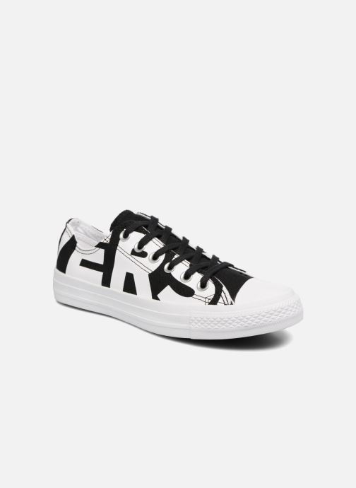 697d2c72894b6e Trainers Converse Chuck Taylor All Star Converse Wordmark Ox W White detailed  view  Pair view