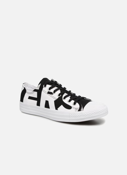 3c182196bd40 Converse Chuck Taylor All Star Converse Wordmark Ox (White ...
