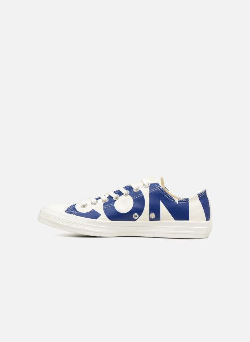 Trainers Converse Chuck Taylor All Star Converse Wordmark Ox White front view