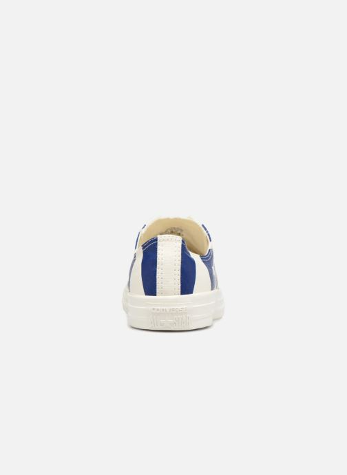 Trainers Converse Chuck Taylor All Star Converse Wordmark Ox White view from the right