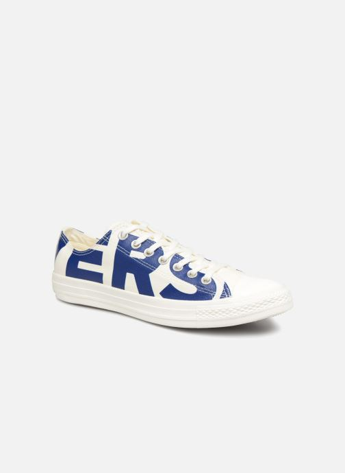 82a22c4afe507c Trainers Converse Chuck Taylor All Star Converse Wordmark Ox White detailed  view  Pair view