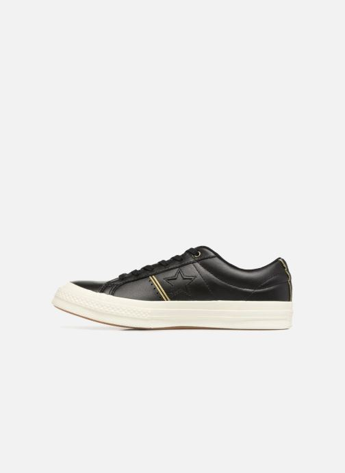 Sneakers Converse One Star Piping Pack Ox W Zwart voorkant