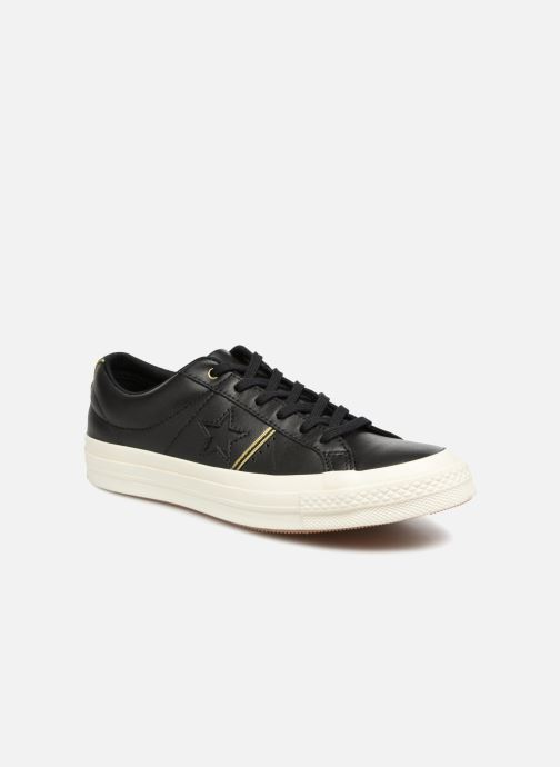 Deportivas Converse One Star Piping Pack Ox W Negro vista de detalle / par
