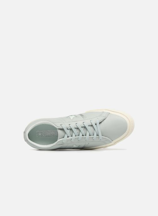 Trainers Converse One Star Piping Pack Ox W Green view from the left