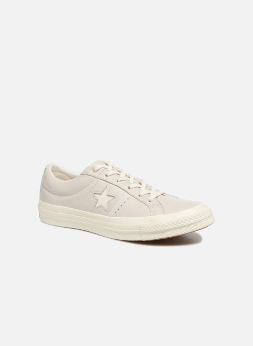 092bd9b07854 Trainers Converse One Star Piping Pack Ox W Grey detailed view  Pair view