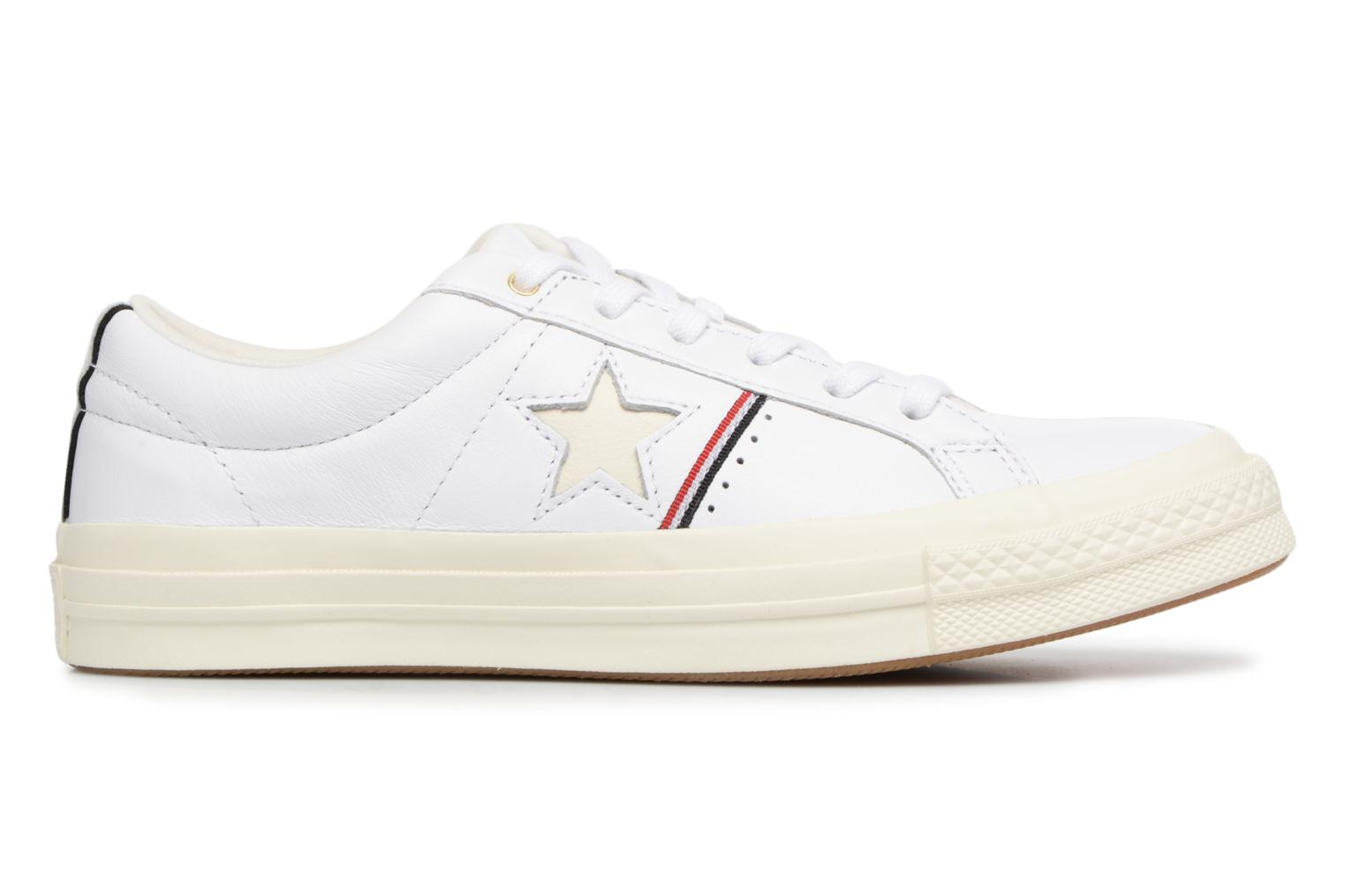 Baskets Converse One Star Piping Pack Ox W Blanc vue derrière