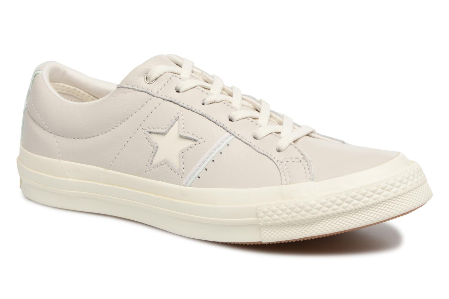 Baskets Converse One Star Piping Pack Ox W Gris vue détail/paire
