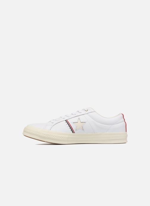 Baskets Converse One Star Piping Pack Ox M Blanc vue face