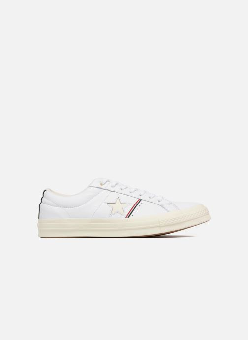 Baskets Converse One Star Piping Pack Ox M Blanc vue derrière