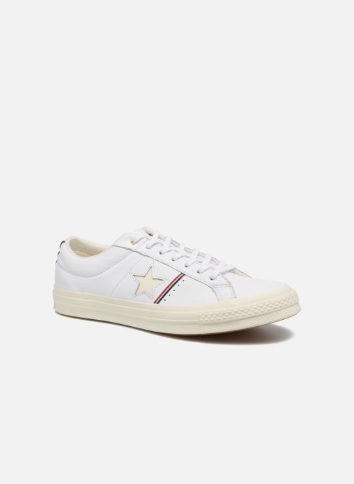 Baskets Converse One Star Piping Pack Ox M Blanc vue détail/paire