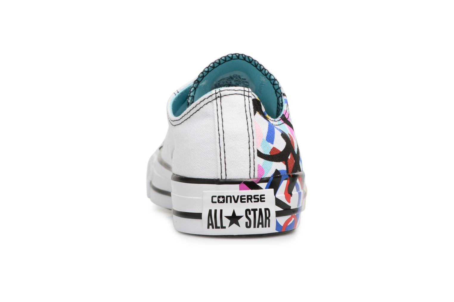 Baskets Converse Chuck Taylor All Star Print Ox Multicolore vue droite