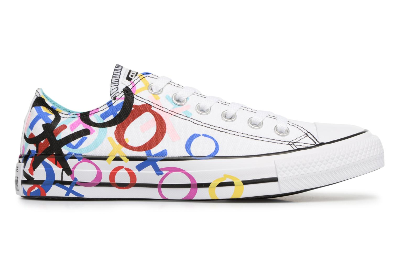Baskets Converse Chuck Taylor All Star Print Ox Multicolore vue derrière
