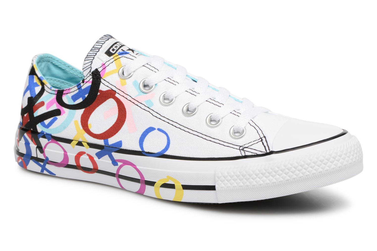 Baskets Converse Chuck Taylor All Star Print Ox Multicolore vue détail/paire