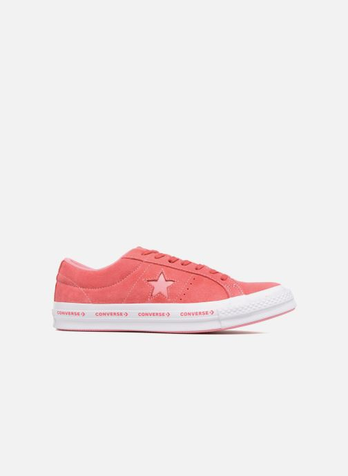 Baskets Converse One Star Converse Pinstripe Ox Rose vue derrière