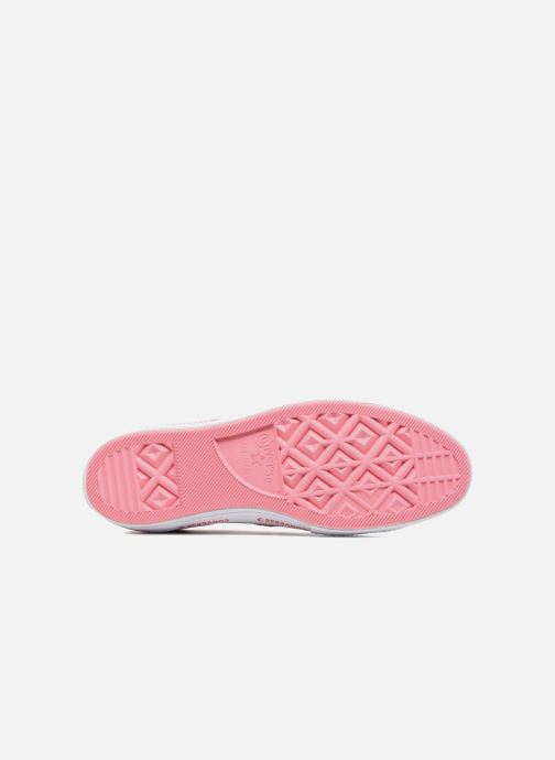 Sneakers Converse One Star Converse Pinstripe Ox Roze boven
