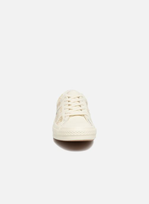 Trainers Converse One Star Converse Wordmark Ox White model view
