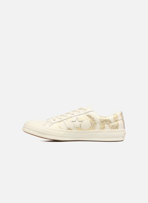 Trainers Converse One Star Converse Wordmark Ox White front view